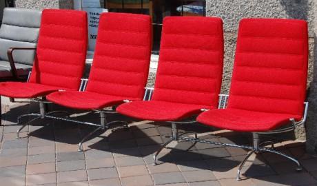 Soffa från Fritz Hansen SAS-lounge chair