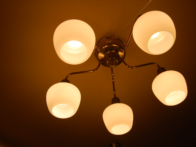50 tals lampa