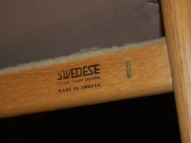 Fåtlölj Yngve Ekström Swedese ~ Möbeldepån